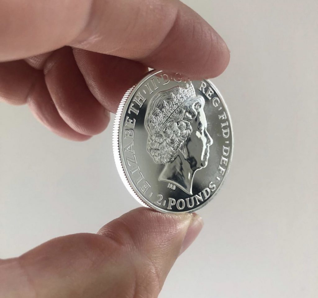 2011 Silver Britannia Coin. A beginner's guide to gold and silver