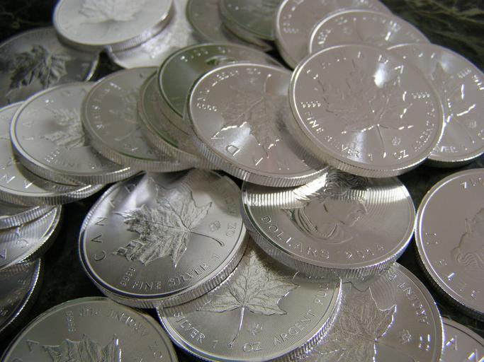 Invest in silver maple coins