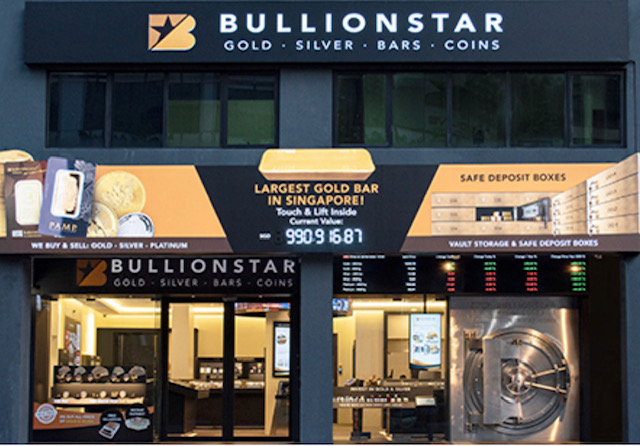Buy gold and silver online with BullionStar