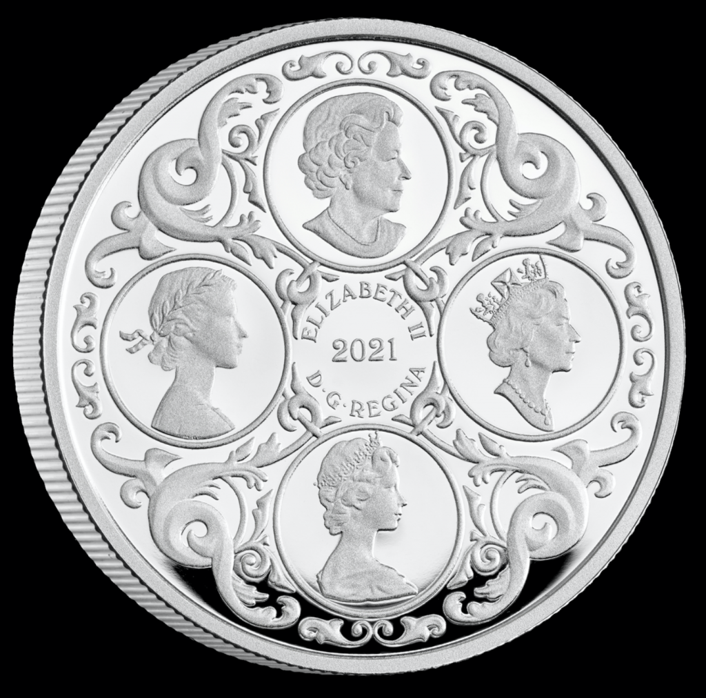 Silver coin to celebrate queens 95th Birthday