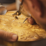 Royal Mint unveils a 10 kilo gold coin. Largest coin in its 1,100-year history
