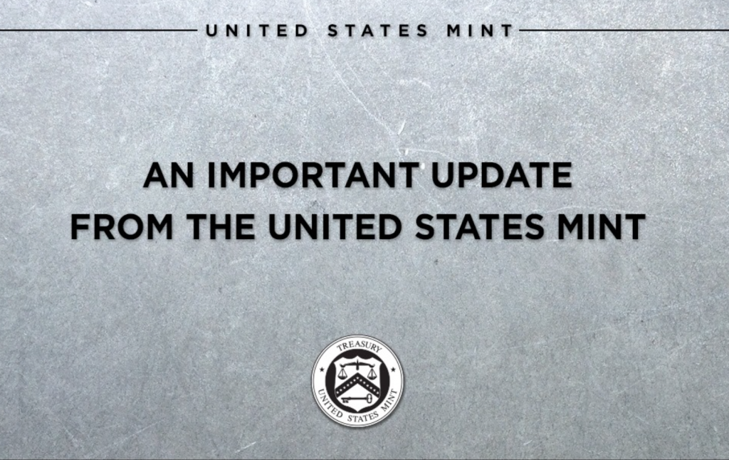 US Mint high demand for silver